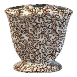 Floral Frog Vase