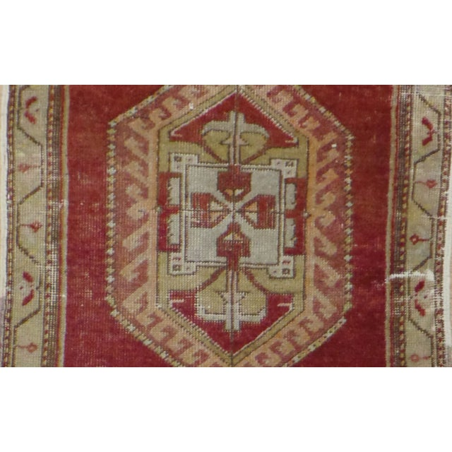 "Image of Vintage Distressed Anatolian Rug - 1'6"" x 2'11"""