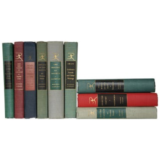Vintage Modern Library Collection - Set of 9