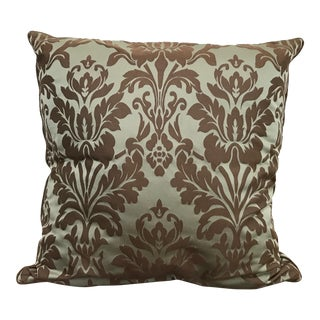 Restoration Hardware Cotton Silk Damask Pillow Cover