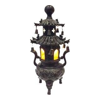 Vintage Chinoiserie Pagoda Lantern