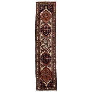 """Vintage Persian Ardebil Wool Runner - 2'5"""" x 10'5"""""""