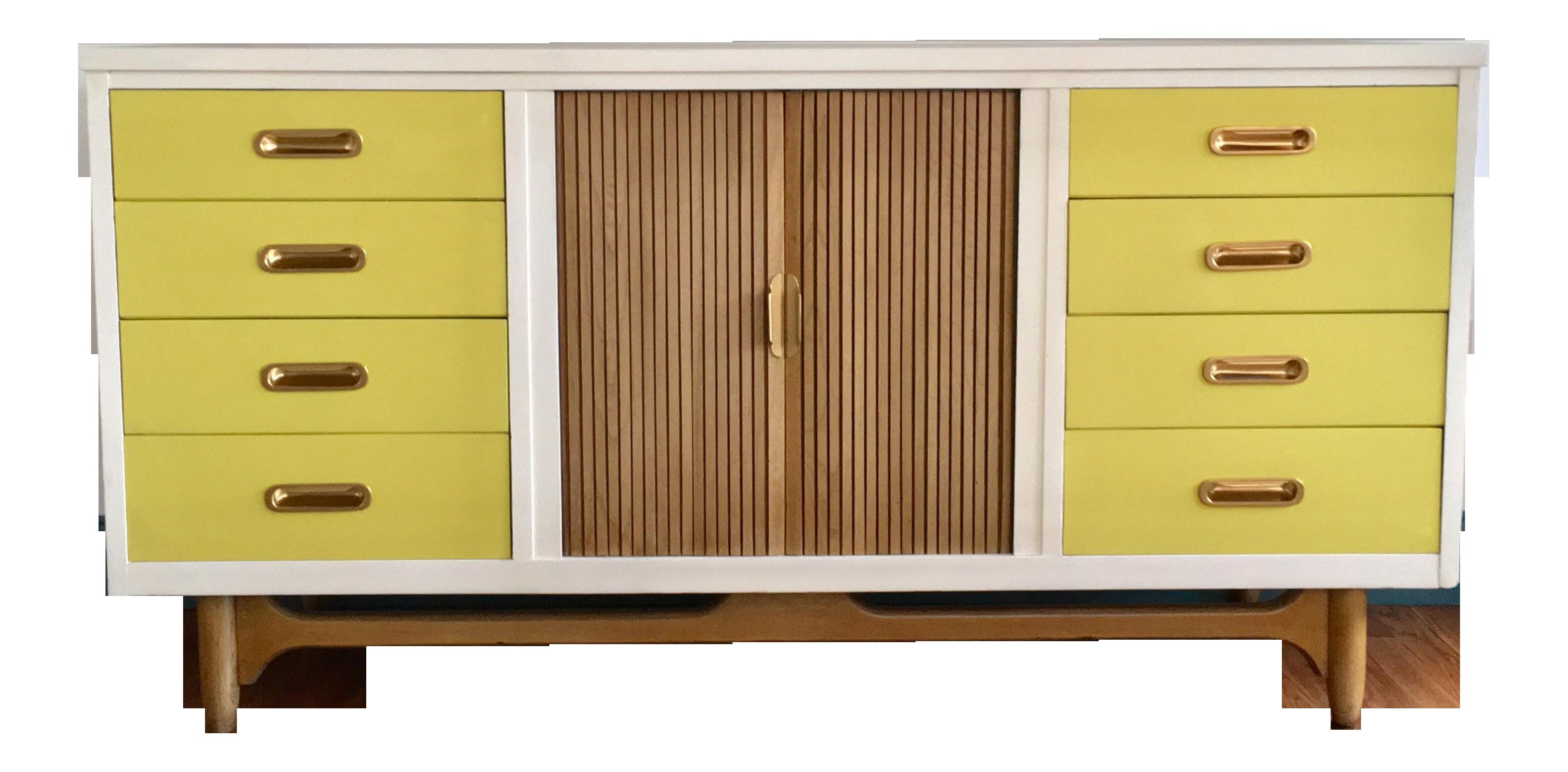 yellow dresser ry