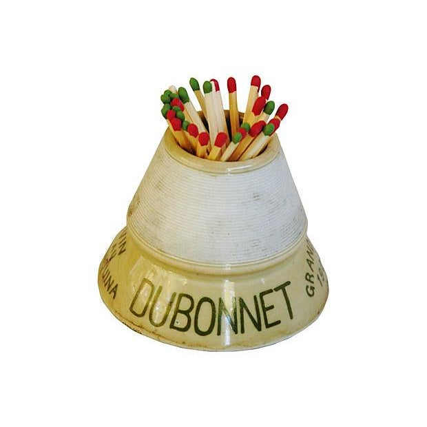 Vintage French DuBonnet Match Striker & Holder - Image 4 of 7