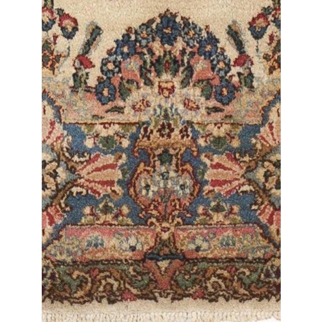 Antique Persian Kerman Rug 5 X 5 6 Quot Chairish