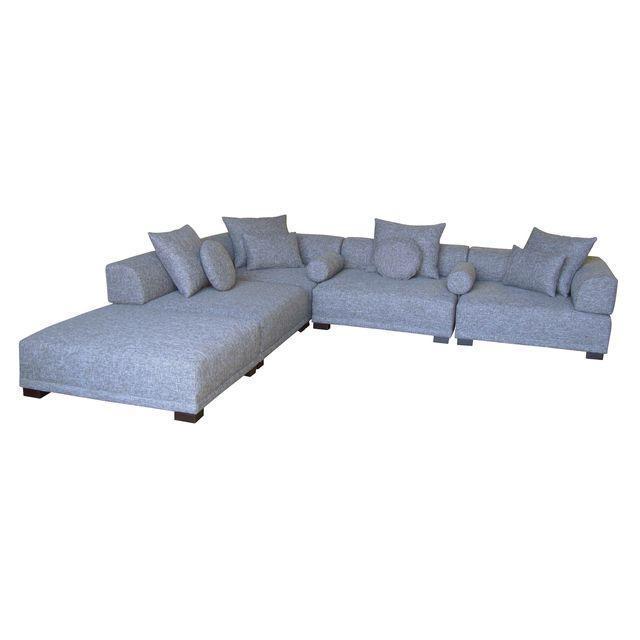 Modular Angelo Sectional & Pillows - Image 1 of 4