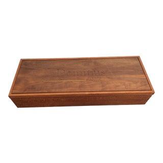 Dominus Teak Wooden Wine Crate