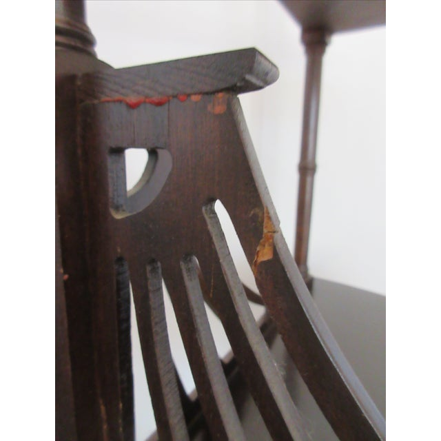 Antique Chippendale Five Tiered Etagere - Image 8 of 11