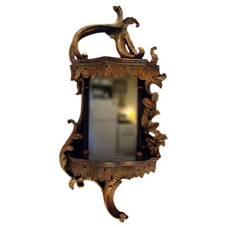 Baroque style mirror wall bracket chairish for Baroque resin mirror