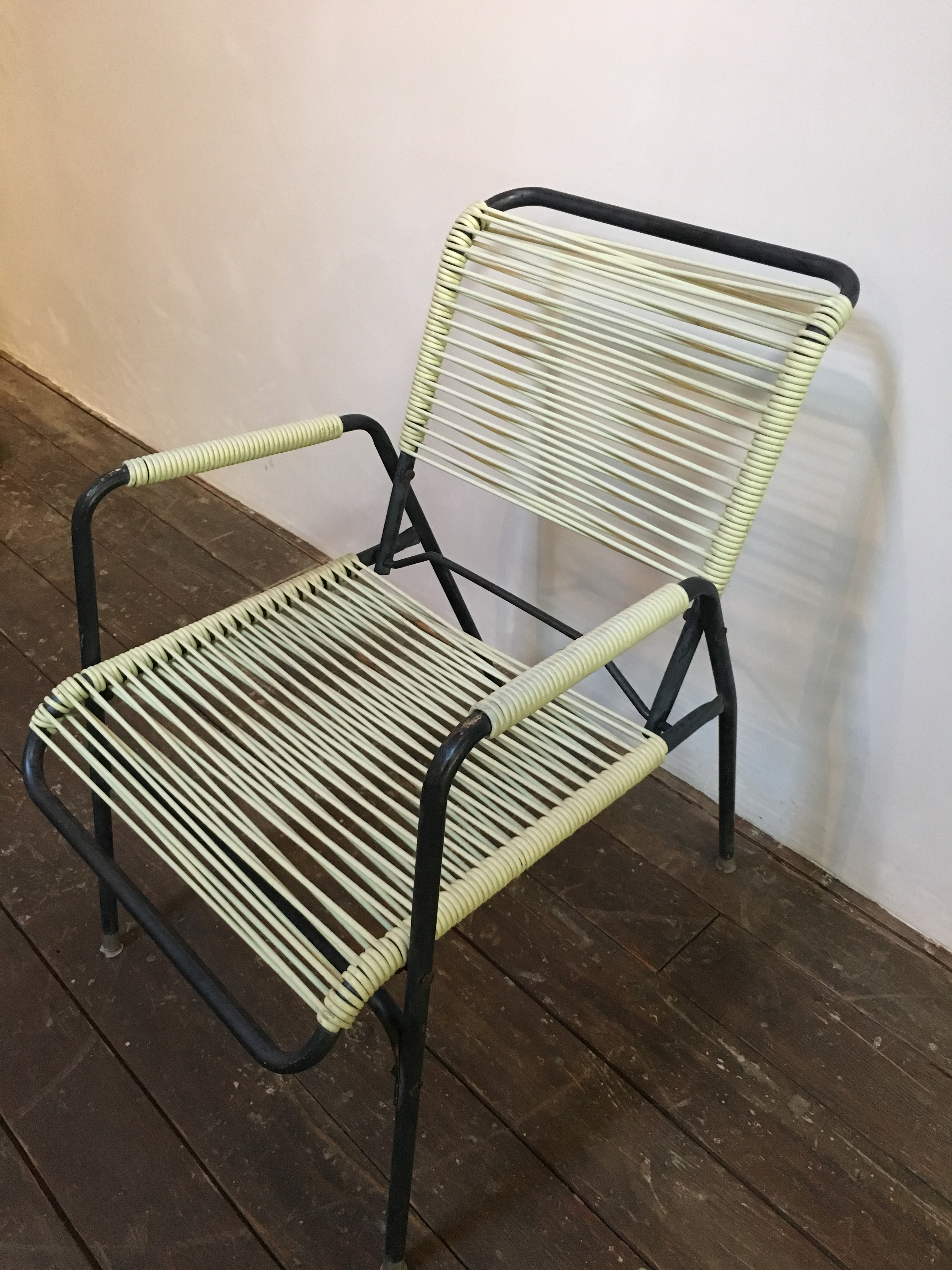 1960s Walter Lamb Style Outdoor Chairs   Set Of 4   Image 6 Of 10