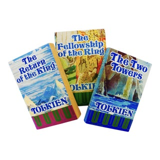 1975 The Lord of the Rings Books- Set of 3