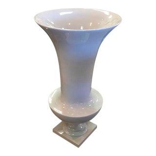 Mid Century Acrylic or Fiberglass Vase