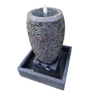 River Pebble Stone Fountain