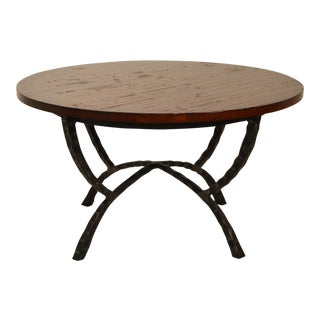 Solid Cherry Wood Cocktail Table