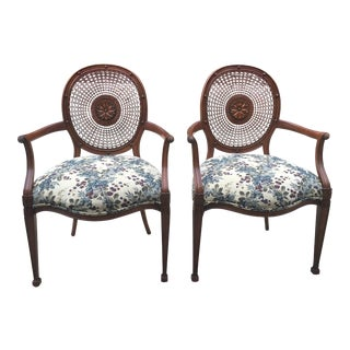Grange France Occasional Armchairs - Pair