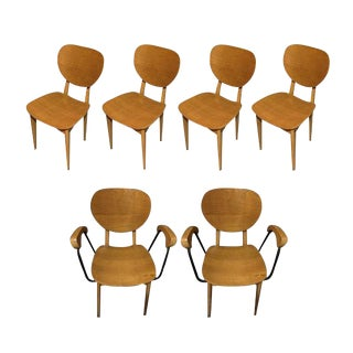 Dining Chairs, Set of Six, Denmark, 1970s