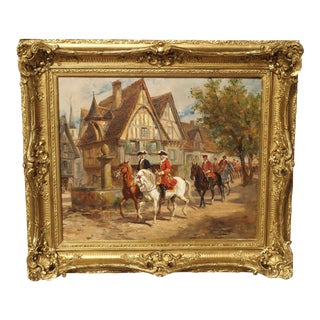French Oil Painting by Raymond Desvarreux 1876-1963