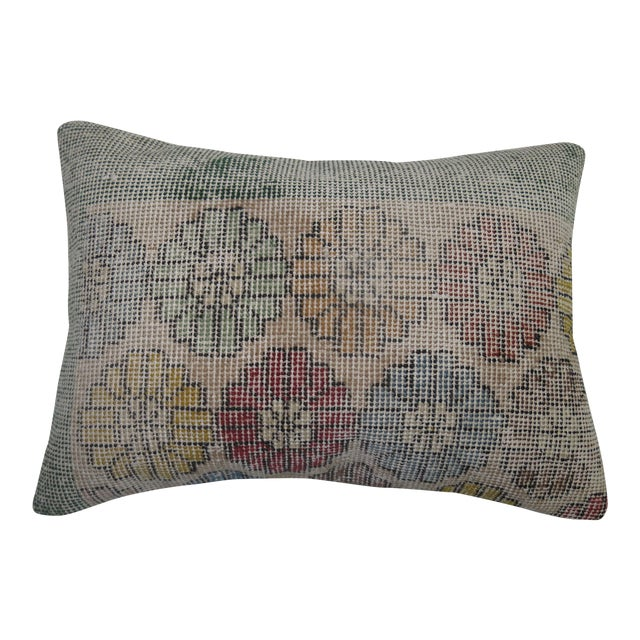 Image of Art Deco Turkish Rug Pillow