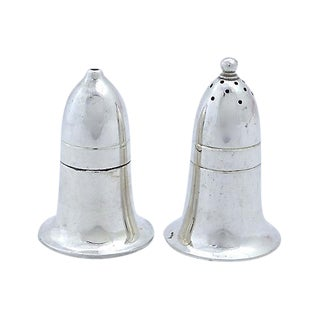 Mappin & Webb Art Deco Salt & Pepper Shakers