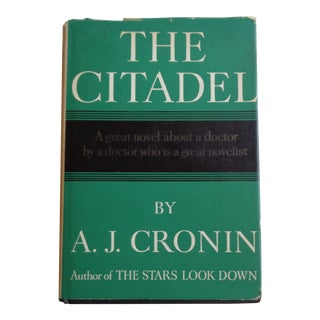 "1960s ""The Citadel"" Vintage Doctor-Themed Book"
