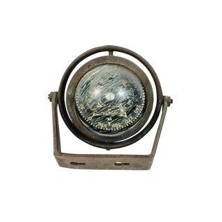 Brass Ritchie Marine Wall Mount Compass