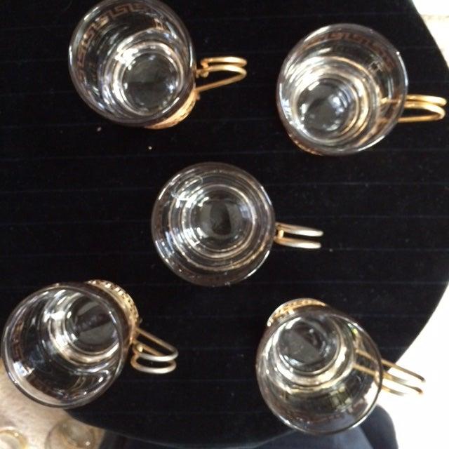 Greek Key Bar Mugs - Set of 5 - Image 3 of 4