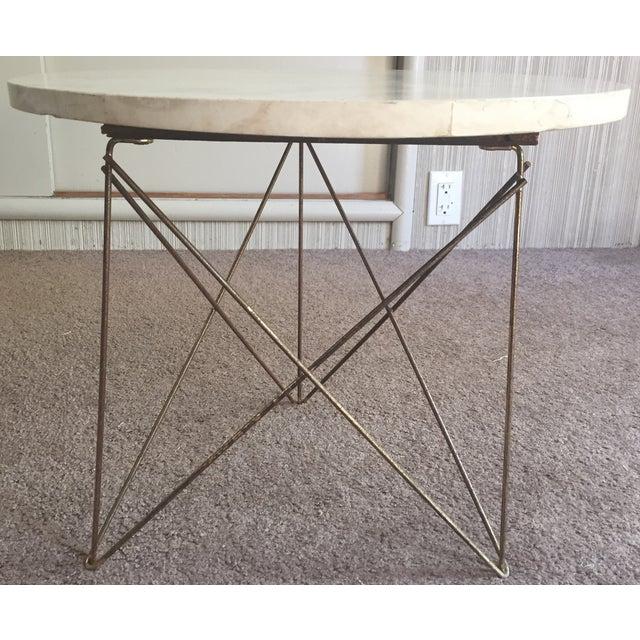 Image of 50s Brancusi Atomic Side Table Mid Century Modern