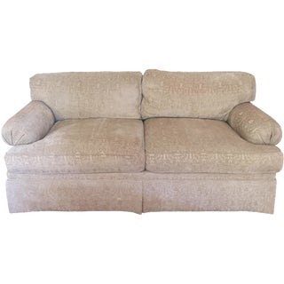 Two-Seater Chenille Sofa