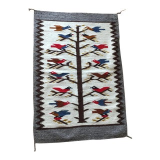 Vintage Hand Woven Wall Art Tapestry