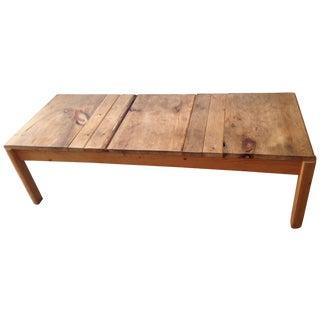 Nightwood NY Custom Reclaimed Wood Coffee Table