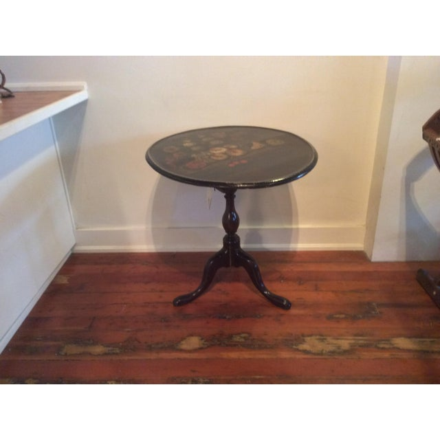 18th Century Dutch Tilt Top Table With Still Life - Image 7 of 11