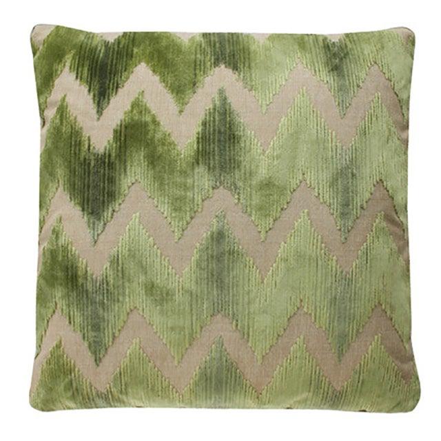Image of Lee Jofa Belgian Velvet Accent Pillows - a Pair
