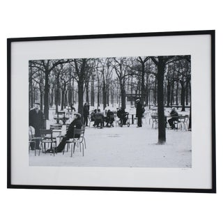 """Old Men of Paris"" Original Framed Photo"