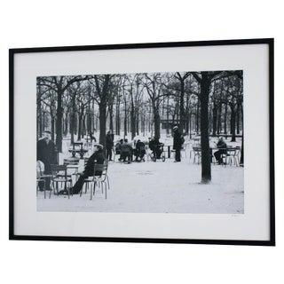 """""""Old Men of Paris"""" Original Framed Photo"""