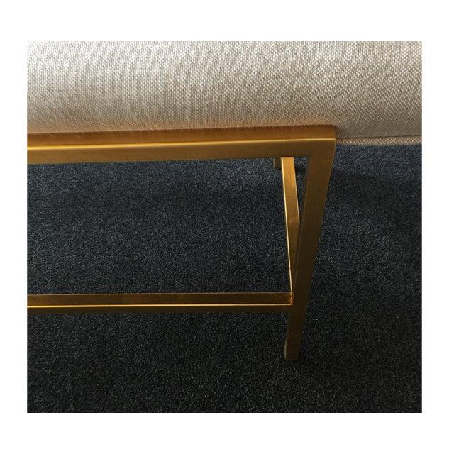 Century Furniture Modern Leg Bench - Image 4 of 5