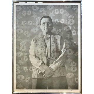 Framed Gertrude Stein Poster