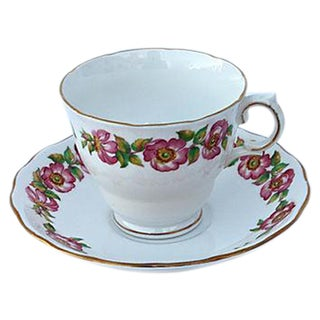 Bone China Tea Cup & Saucer - A Pair