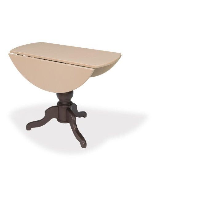 Sarreid LTD Round Pedestal Bistro Table - Image 4 of 6