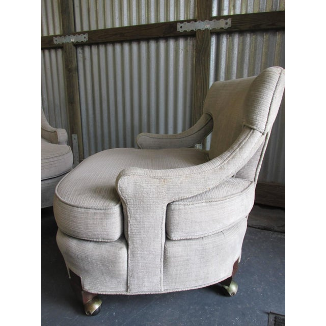 Billy Haines Style Vintage Lounge Chairs - A Pair - Image 3 of 10