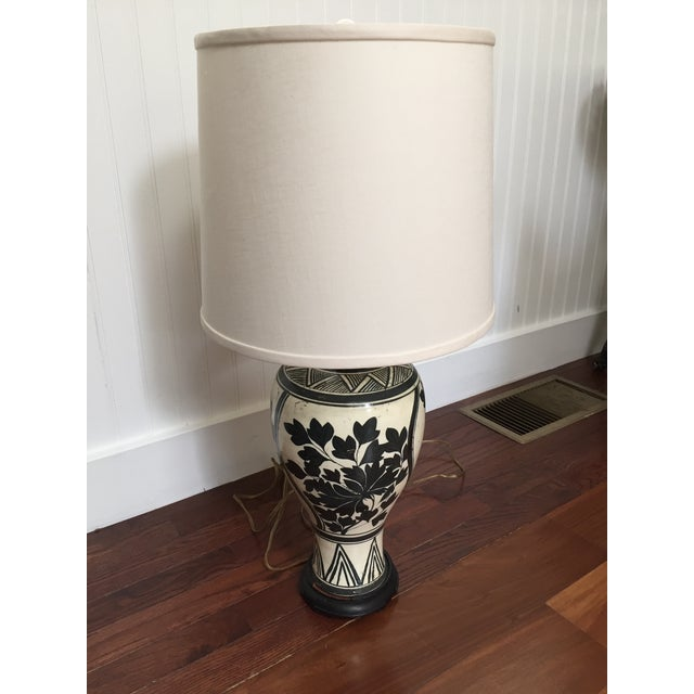 Image of Vintage Chinese Meiping Lamp