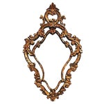 Image of Antique Florentine Giltwood Mirror
