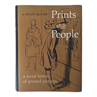 "1971 ""Prints & People"" Book, Metropolitan Museum"