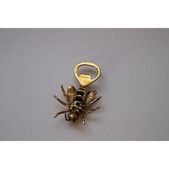 Solid Brass Bee Bottle Opener - Image 3 of 3