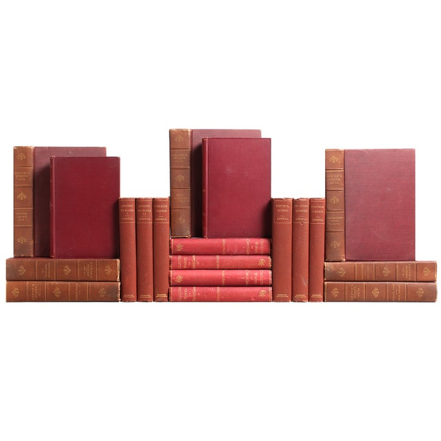 Victorian Marsala Classic Books - S/19 - Image 2 of 2
