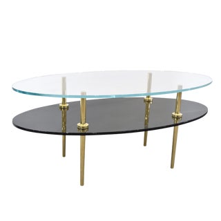 Jill-Tiered Glass Coffee Table