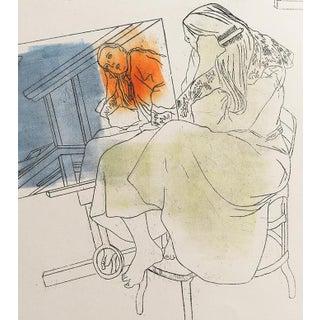 """Reflection in Estelle's Studio"" Print"