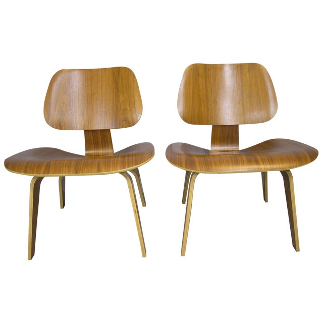 Charles and Ray Eames LCW Chairs - A Pair - Image 1 of 7