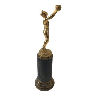 Vintage Basketball Trophy