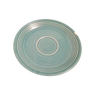 Vintage Turquoise Fiesta Fiestaware Saucer Plate