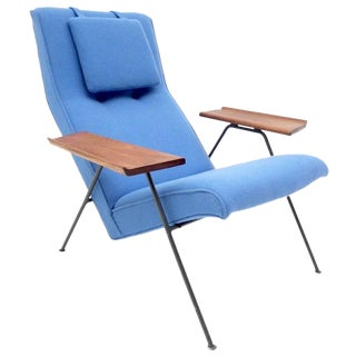 Original 1950s Reclining Chair by British Designer Robin Day for Hille